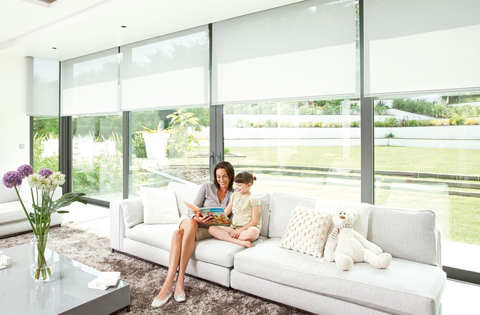Motorised blinds, an innovative solution for controlling